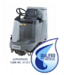 Nilfisk  BR855 Combi Ride-On Floor Scrubber Dryer